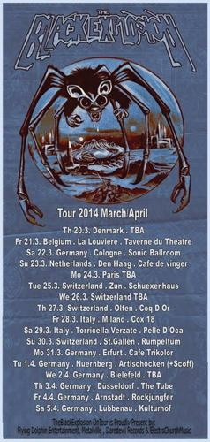 The Black Explosion European Tour 2014